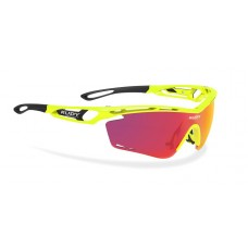 GAFA TRALYX RED FLUO MULTILASER ORANGE LENS RUDY PROJECT