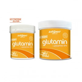 GLUTAMINA INFISPORT ENRIQUECIDA CON ZINC