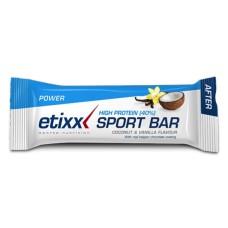 ETIXX BARRITA HIGH PROTEIN (39%) COCO-VAINILLA 50g