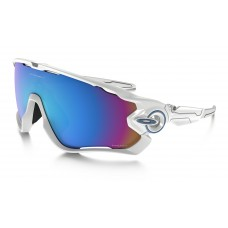 GAFA OAKLEY JAWBREAKER POLISHED WHITE w/ PRIZM SNOW (9290-2131)
