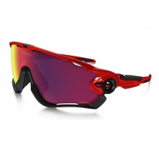 GAFA OAKLEY JAWBREAKER CAVENDISH POLISHED BLACK w/ PRIZM ROAD (9290-10)