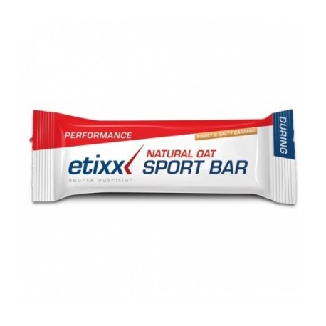 BARRITA ETIXX NATURAL OAT SWEET-SALTY CARAMEL