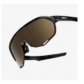 GAFA 100% S2 MATTE BLACK / FLASH GOLD LENS (61003-019-69)