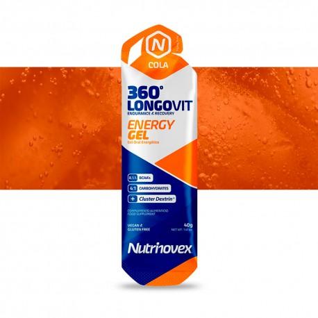 GEL ENERGETICO NUTRINOVEX LONGOVIT 40g 360º