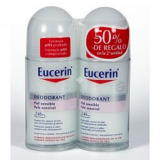 EUCERIN DESODORANTE 24H ROLL-ON 50ML 2ª UNIDAD AL 50%