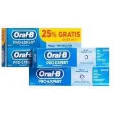 ORAL-B PRO EXPERT PROTECCION PROFESIONAL PASTA 2 X (75 ML + 25 ML)