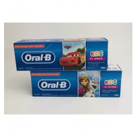 ORAL-B KIDS PASTA DENTAL MÁS DE 3 AÑOS FROZEN O CARS 75 ML