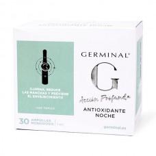 GERMINAL ACCIÓN PROFUNDA ANTIOXIDANTE NOCHE 1 ML X 30 AMPOLLAS
