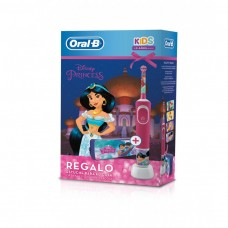 CEPILLO DENTAL ELECTRICO RECARGABLE INFANTIL DISNEY PRINCESS + REGALO ESTUCHE PARA EL COLE