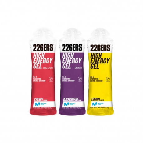 226ERS HIGH ENERGY GEL 50g MOVISTAR TEAM